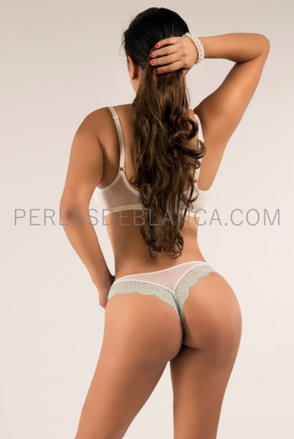 Escort in Madrid with a perfect ass, Sonia - Perlas de Blanca